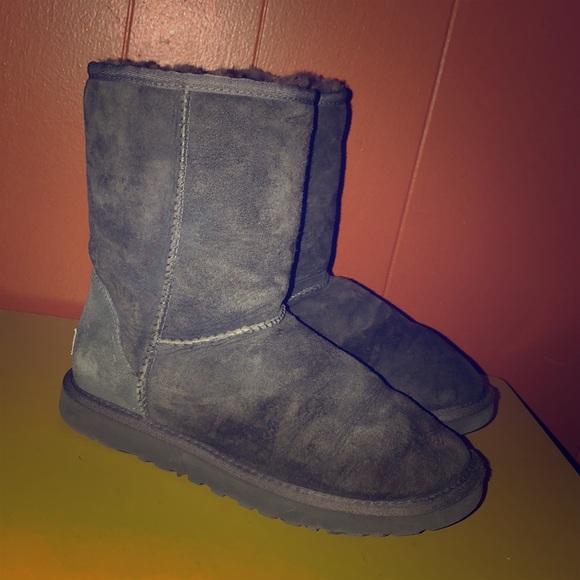 a4b0059811c UGG 5825 Classic Short Gray Sheepskin Boots 7